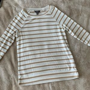 Stitch Fix - 3/4 Sleeve Striped Shirt